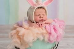 Einhorn_Neugeborenenfotografie_neugeborene_Babybilder_Babyfotos_Newborn_Babyfotostudio_Glitzer_Regenbogen_Unicorn