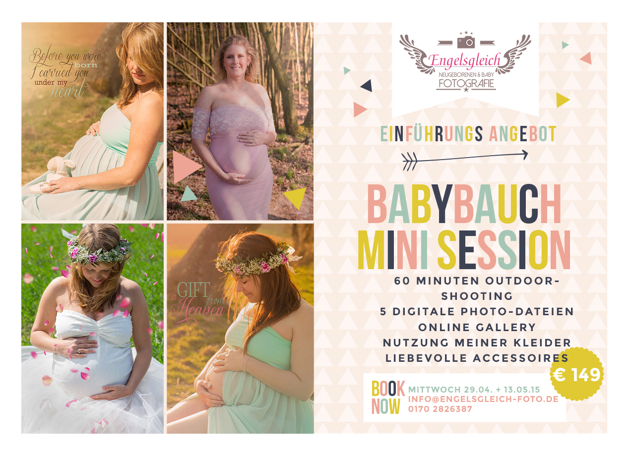 Babybauch Mini Session